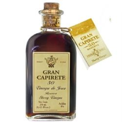 Gran Capirete 50 Year Old Reserva Sherry Vinegar DOP | Buy Online | Spanish Food | UK | London